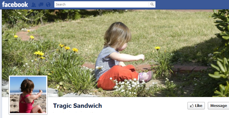 Tragic Sandwich Facebook