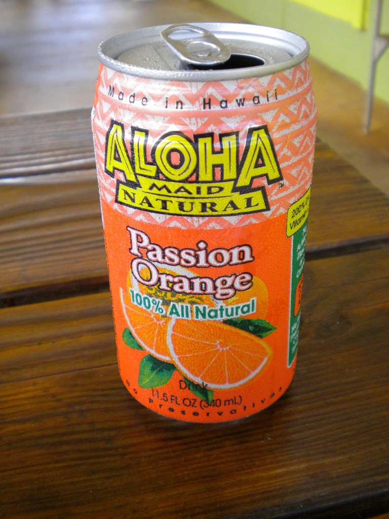 Aloha Maid Passion Orange drink