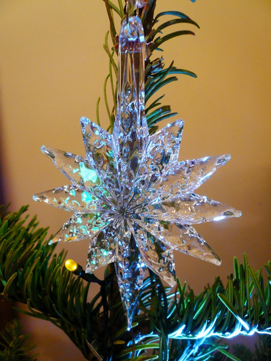 Crystal Christmas Tree Ornament