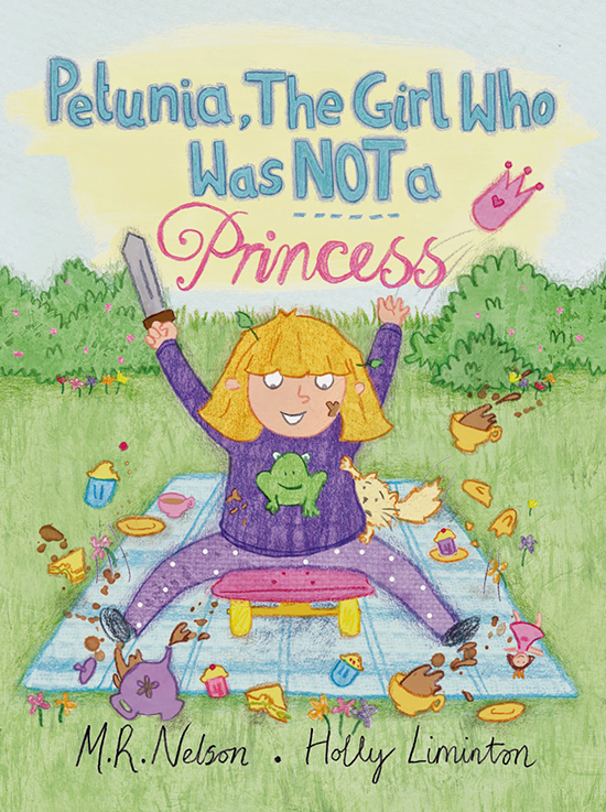 book cover for Petunia, the girl who was NOT a princess
