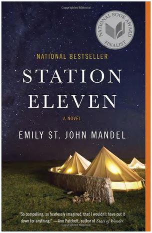 "cover of novel ""Station Eleven"" by Emily St. John Mandel"